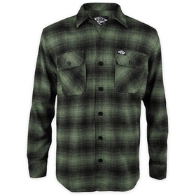 Loose Riders LS Flannel Shirt Men, green